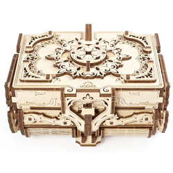 UGEARS Antique Box - Mechanical Wooden Model Kit 70089