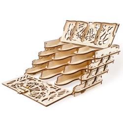 UGEARS Wooden Card Holder - Mechanical Wooden Model Kit 70068