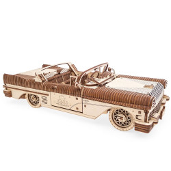 UGEARS Dream Cabriolet VM-05 - Mechanical Wooden Model Kit 70073