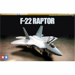 Tamiya 60763 F-22 Raptor 1:72 Plastic Model Kit