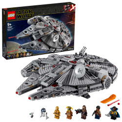 LEGO Star Wars Episode IX 75257 Millennium Falcon 1351pcs Age 9+