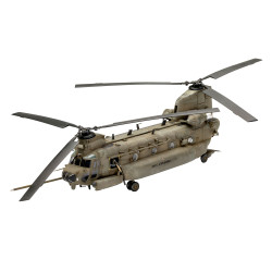 Revell 63876 MH-47E Chinook 1:72 Plastic Model Kit inc. Paints & Glue