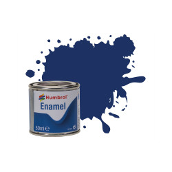 Humbrol 50ml Enamel Paint Tinlet - No 15 Midnight Blue Gloss Model Kit Paint