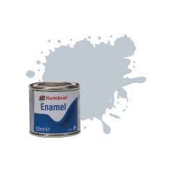Humbrol 50ml Enamel Paint Tinlet - No 56 Aluminium Metallic Model Kit Paint