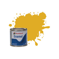 Humbrol 50ml Enamel Paint Tinlet - No 16 Gold Metallic Model Kit Paint