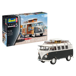Revell 07674 VW T1 Camper 1:24 Model Kit