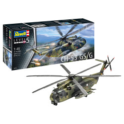 Revell 03856 CH-53 GS/G Helicopter 1:48 Plastic Model Helicopter Kit