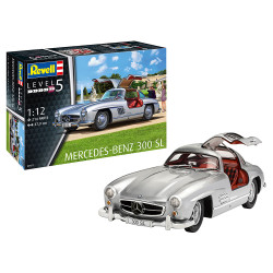 Revell 07657 Mercedes Benz 300 SL 1:12 Model Kit