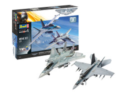 Revell 05677 Top Gun F-14 Tomcat & F/A-18E Super Hornet Gift Set 1:72 Model Kits