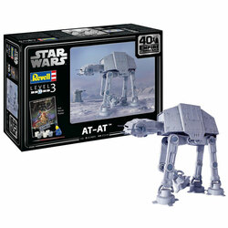 Revell 05680 Gift Set AT-AT The Empire Strikes Back 40th Ann. 1:53 Model Kit
