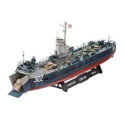 Revell 05169 US Navy Landing Ship Medium (Bofors 40mm) 1:144 Model Kit