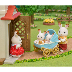 Sylvanian Families 5432 Chocolate Rabbit Twins Set