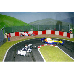 SLOT TRACK SCENICS All in One Pack 5 - Radius 1 Gravel Trap Pack for Scalextric