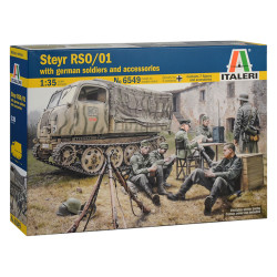 Italeri 6549 Steyr Rso/01 With German Soldiers 1:72 Plastic Model Kit