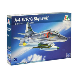 ITALERI A-4 E/F/G Skyhawk 2671 1:48 Aircraft Model Kit