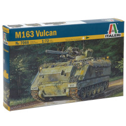 Italeri 7066 M163 Vulcan 1:72 Plastic Model Kit
