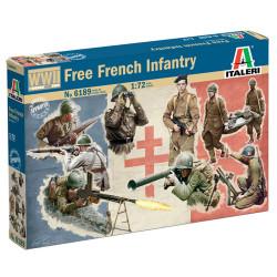 Italeri 6189 French Infantry (WWII) 1:72 Plastic Model Kit