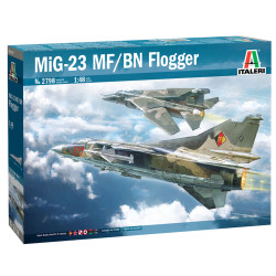 Italeri 2798 Mig-23 Mf/Bn Flogger 1:48 Plastic Model Kit