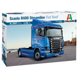 Italeri 3947 Scania R400 Streamline(Flat Roof) 1:24 Plastic Model Truck Kit