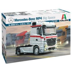 Italeri 3948 Merc Benz Mp4 Big Space 1:24 Plastic Model Truck Kit