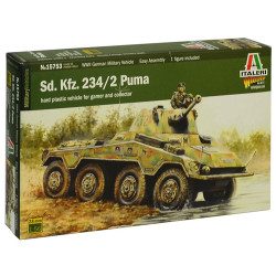 Italeri W15753 Sd.Kfz 234/2 Puma 1:56 Plastic Model Kit