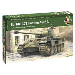 Italeri W15752 Sd.Kfz 171 Panther Ausf A 1:56 Plastic Model Kit