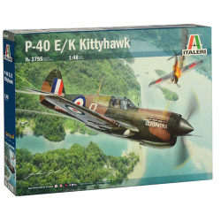 Italeri 2795 Raf P-40E/K Kittyhawk 1:48 Plastic Model Kit