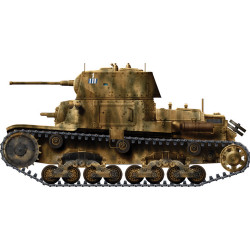 Italeri W15768 Italian Tanks & Semoventi M-13/40 M-14/41 M-40/41 1:56 Model Kit