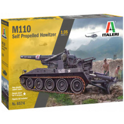 Italeri 6574 M110A1 1:720 Plastic Model Kit