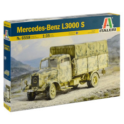 Italeri 6558 Mercedes L3000 1:72 Plastic Model Kit