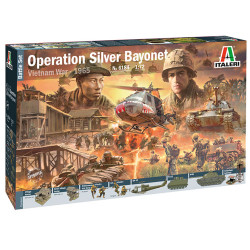 Italeri 6184 Operation Silver Bayonet Vietnam War 1:72 Plastic Model Kit