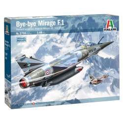 Italeri 2790 Mirage F1 Ct/Cr 1:48 Plastic Model Kit