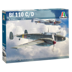 Italeri 2794 Messerschmitt Bf-110 C/D 1:48 Plastic Model Kit