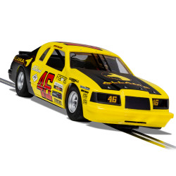 Scalextric Digital Slot Car C4088 Ford Thunderbird - Yellow & Black No.46