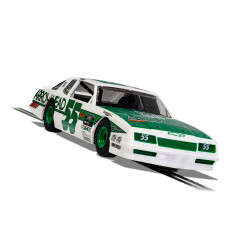 Scalextric Digital Slot Car C4079 Chevrolet Monte Carlo - Green & White No.55