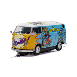 Scalextric Digital Slot Car C3933 VW Panel Van T1b  - DC Comics