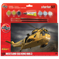 AIRFIX A55307 Westland Sea King HAR.3 Helicopter 1:72 Starter Set