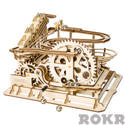 ROKR Marble Parkour/Run Mechanical Wooden Model Kit LG501