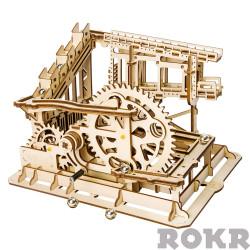 ROKR Marble Squad/Run Mechanical Wooden Model Kit LG502