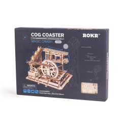 ROKR Marble Squad/Run Mechanical Wooden Model Kit LG502