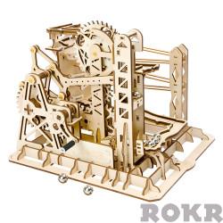 ROKR Marble Explorer Mechanical Wooden Model Kit LG503