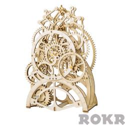 ROKR Pendulum Clock Mechanical Wooden Model Kit LK501