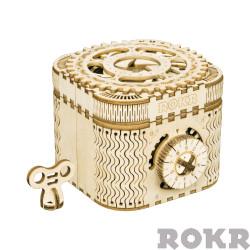 ROKR Treasure Box Mechanical Wooden Model Kit LK502
