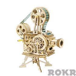 ROKR Projector/Vitascope Mechanical Wooden Model Kit LK601