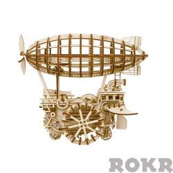 ROKR Air Vehicle/Ship Mechanical Wooden Model Kit LK702