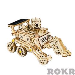 ROKR Harbinger Rover Solar Power Car Mechanical Wooden Model Kit LS402