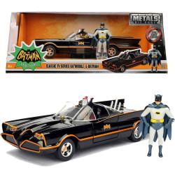 Jada Hollywood Rides 1966 Batman Classic Batmobile 1:24 Diecast Model Car