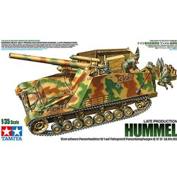 TAMIYA 35367 German Heavy Self-Propelled Howitzer Hummel 1:35 Plastic Model Kit