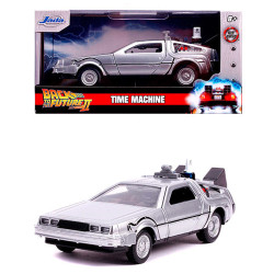 Jada Hollywood Rides Back To The Future DeLoreon 1:32 Diecast Model Car