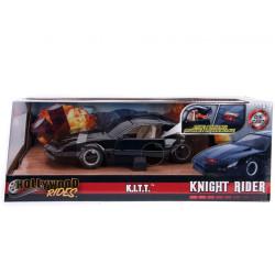 Jada Hollywood Rides Knight Rider 1982 Pontiac Trans AM 1:24 Diecast Model Car